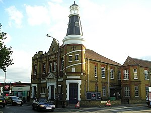 Walthamstow - The Lighthouse Methodist Church on Markhouse Road.