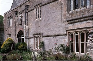 """Mary Arundell (courtier) - Lanherne, St Mawgan, Cornwall, seat of the Arundells """"of Lanherne"""""""