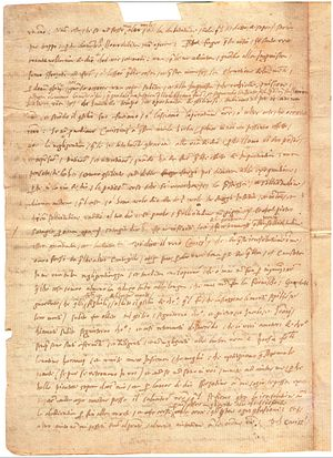 Anthony Maria Zaccaria - The Manuscript of Letter 2 of St. Anthony Mary Zaccaria