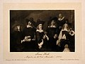 The Master and Governors of the Old Man's House, Amsterdam. Wellcome V0006688.jpg