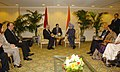 The Prime Minister, Dr. Manmohan Singh meeting the Prime Minister of Morocco, Mr. Abbas El Fassi, on the sidelines of the Nuclear Security Summit, in Washington on April 12, 2010 (2).jpg
