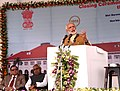 The Prime Minister, Shri Narendra Modi addressing at the closing ceremony of Centenary Celebrations of the Patna High Court, in Bihar on March 12, 2016. The Chief Minister of Bihar, Shri Nitish Kumar is also seen.jpg