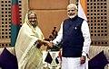 The Prime Minister, Shri Narendra Modi meeting the Prime Minister of Bangladesh, Ms. Sheikh Hasina, on the sidelines of the 4th BIMSTEC Summit, in Kathmandu, Nepal on August 30, 2018.JPG