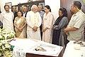 The Prime Minister, Shri Narendra Modi offers condolences to the family members of the former Lok Sabha Speaker, Shri P.A. Sangma, in New Delhi.jpg