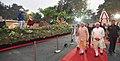 The Prime Minister, Shri Narendra Modi visiting the exhibition at the Haryana Swarna Jayanti Celebration Ceremony venue, in Gurugram, Haryana (2).jpg