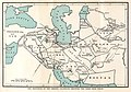 The Provinces of the Abbasid Caliphate, showing the chief high roads. Sykes, 1921..jpg