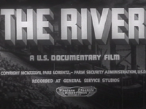 The River (1938 film) - Image: The River 1938