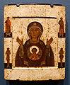 The Sign of the Theotokos, Moscow School, early 1600s, egg tempera on wood - Jordan Schnitzer Museum of Art, University of Oregon - Eugene, Oregon - DSC09255.jpg
