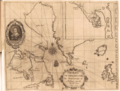 The Strange and Dangerous Voyage (Thomas James, 1633) - 2 foldout map The Platt of Sayling - 1 full view.png
