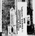 The Sun showing New York's first skyscraper the Tower Building, 1914.png