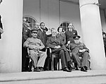 The Teheran Conference, 28 November - 1 December 1943 CM5480.jpg