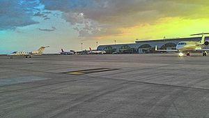 Diyarbakır Airport - Image: The apron area of Diyarbakır Airport