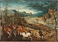 The return of the herd, by Pieter Bruegel (I).jpg