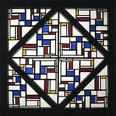Glas-in-loodcompositie III
