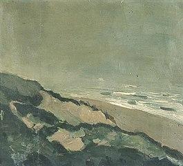 Dunes en bord de mer
