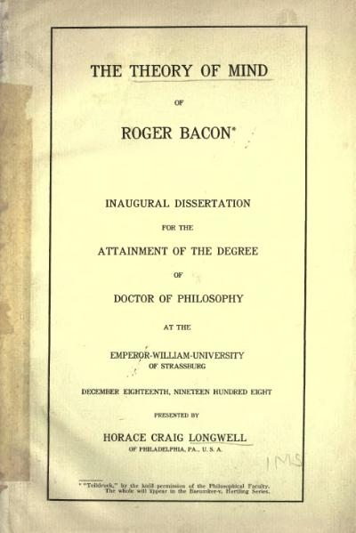 File:Theory of Mind of Roger Bacon.djvu