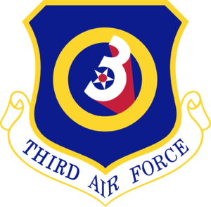 Third Air Force - Shield of the Third Air Force