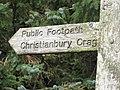 This way to Christianbury - geograph.org.uk - 989166.jpg