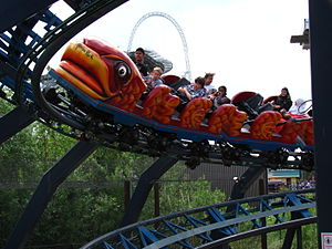 Flying Fish (roller coaster) - The coaster