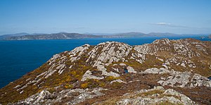 Dunmanus Bay - Dunmanus Bay as seen from Three Castle Head