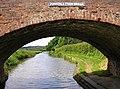 Through Dunstall Farm Bridge near Hopwas, Staffordshire - geograph.org.uk - 998616.jpg