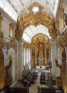 Gilded woodcarving in Portugal