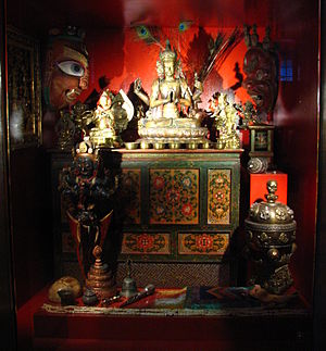 Human rights in China - Tibet Buddhist Shrine