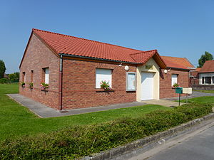 Tilloy-lez-Marchiennes - Image: Tilloy lez Marchiennes (Nord, Fr) mairie