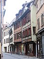 Timber framed houses, rue des Charpentiers (Strasbourg).jpg