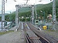 Tinnoset stasjon kai jernbaneferge.jpg