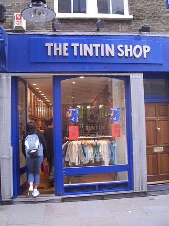 The Adventures of Tintin - Image: Tintin Shop
