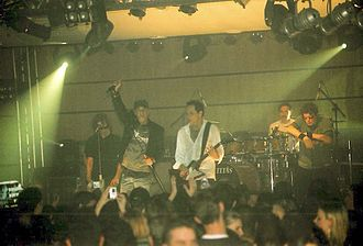 Titãs - Titãs performing live in Foz do Iguaçu, Paraná, in 2006