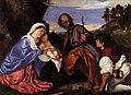 Titian - The Holy Family with a Shepherd - WGA22730.jpg