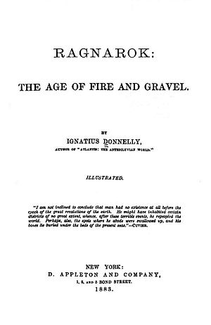 Ragnarok: The Age of Fire and Gravel - Title page of the first edition.