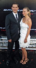Tobey Maguire and Jennifer Meyer by David Shankbone