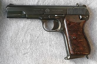 TT pistol - The Hungarian 'Tokaypt-58' - is a 9 mm variant of the Soviet TT pistol