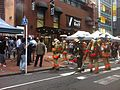 Tokyo Fire Department fire fighters responding to fire - Shinjuku - August 2014.jpg
