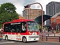 Tokyubus A6728 Hachiko-Bus at Yebisu Garden Place.jpg