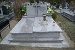 Tomb of Bronisław Kuzio at Central Cemetery in Sanok 1.jpg
