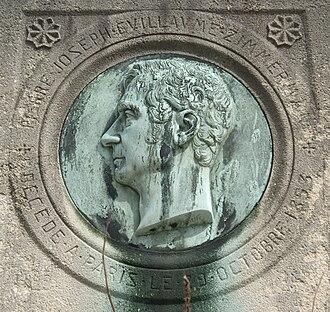Pierre-Joseph-Guillaume Zimmerman - Grave in cimetière d'Auteuil.
