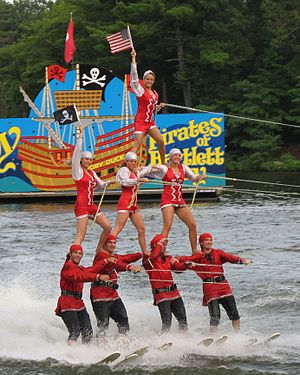 Tommy Bartlett Show - Water skiers in 2007