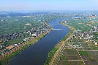 Tone River - Tone River at Narita and Kawachi (2015)