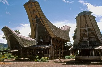 House society - Image: Toraja house