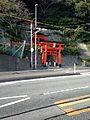 Toriis of Tateishi Inari Shrine in Shimonoseki, Yamaguchi.jpg