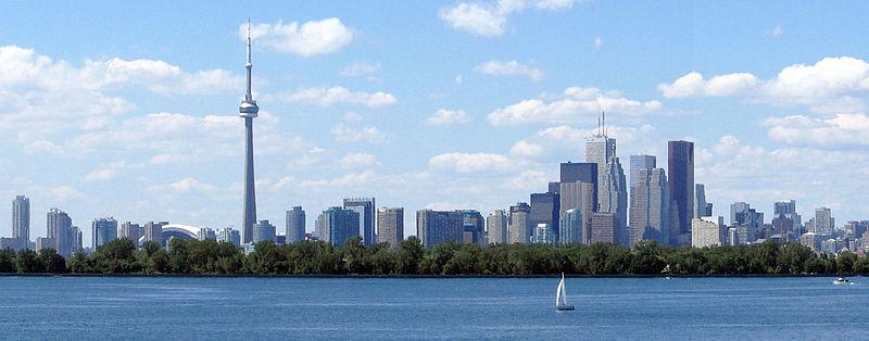 Toronto Skyline, Canada без смс