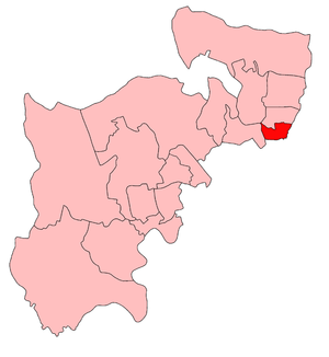 Tottenham South (UK Parliament constituency) - Tottenham South in Middlesex, 1918-50