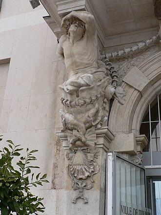 Pierre Puget - Image: Toulon caryatides p 1040273
