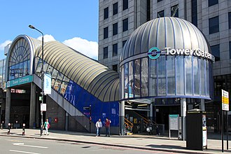 Tower Gateway DLR station - Image: Tower Gateway DLR station