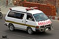 Toyota LiteAce ambulance,Bangladesh. (29776580693).jpg