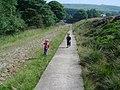 Track at Ogden Water. - geograph.org.uk - 54170.jpg